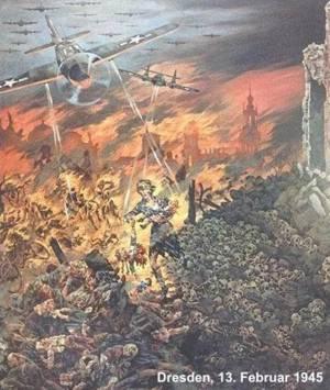 Dresden ein einziges Krematorium