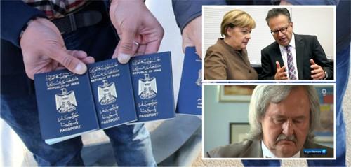 Merkel deckt Parasiten mit falschen Pässen