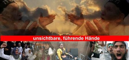 führende Pessach-Hände des Terrors