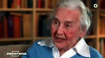 Ursula Haverbeck gibt Panorama ein Interview