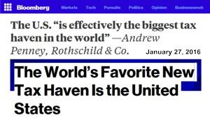 US biggest tax haven