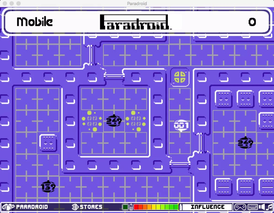 Paradroid+InfoBar Tease