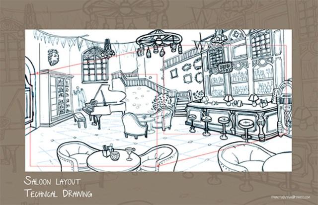 layout art example