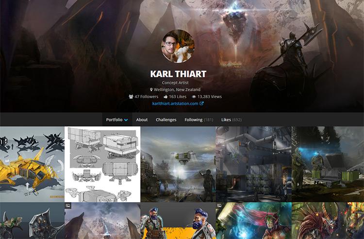 karl thiart website