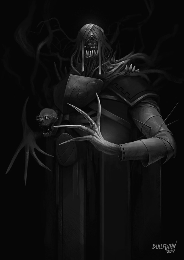 lich character concept illustration art
