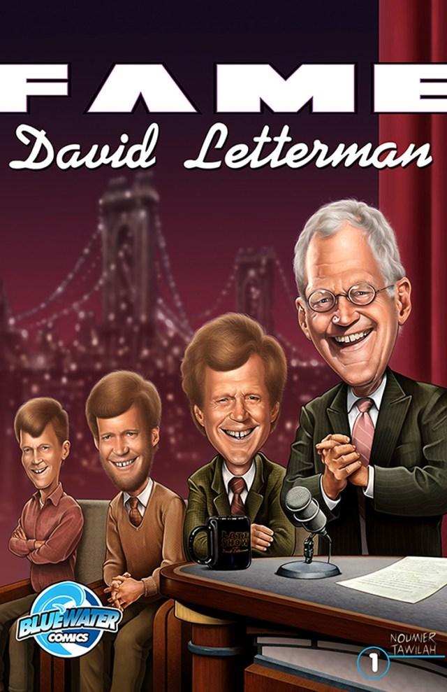 david letterman comic book