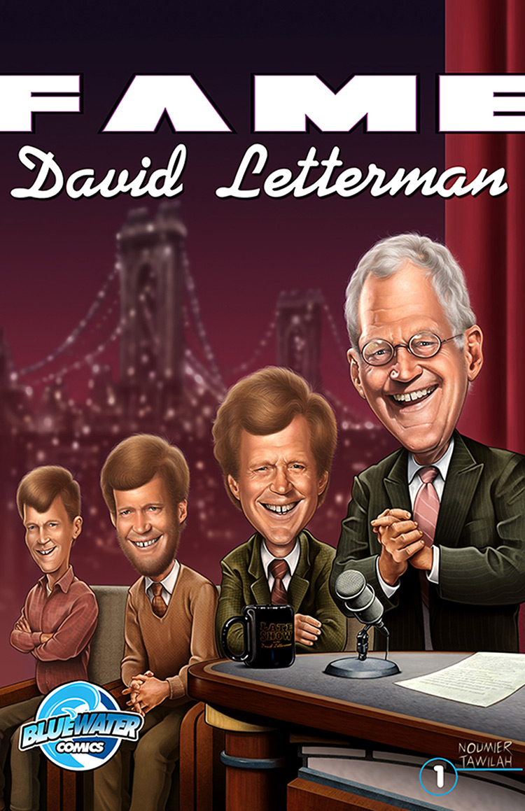 david letterman comic book