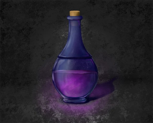 intellect potion concept art