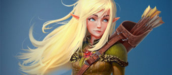 Elf & Elven Character Art Design Gallery