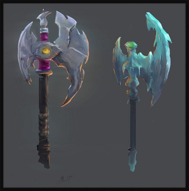battle axe concepts