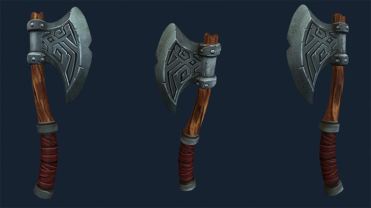 strong metal axes