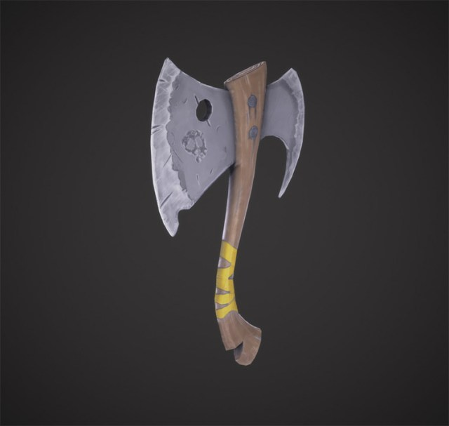 throwing axe concept