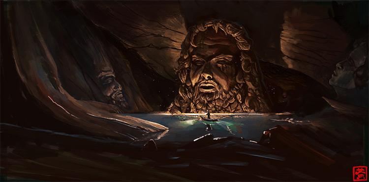 Hellenic Underworld Subterranean Shrine