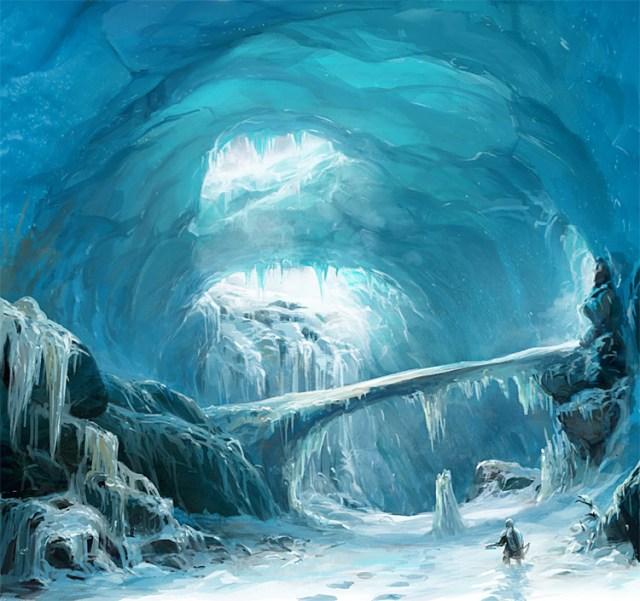 LoTR Ice Cavern Design