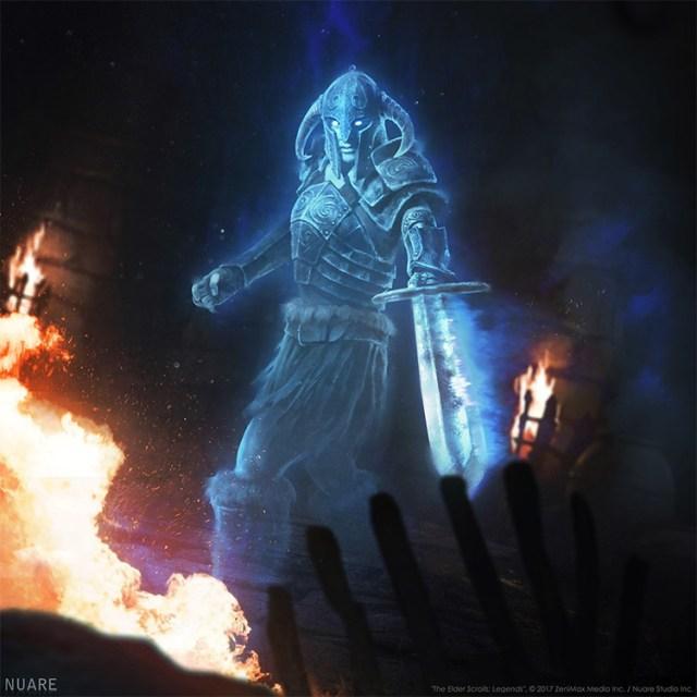 Dragon ghost character art