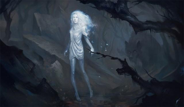 Ghost Lost in a Dreamworld