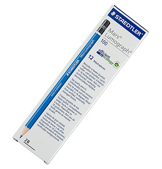 staedtler 2b pencil twelve pack