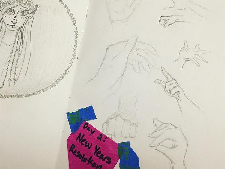 Quick sketching practice