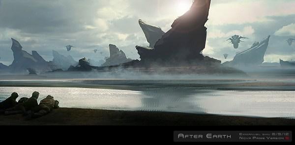 After Earth Concept Art by Emmanuel Shiu   Concept Art World