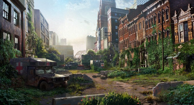 Image result for the last of us art