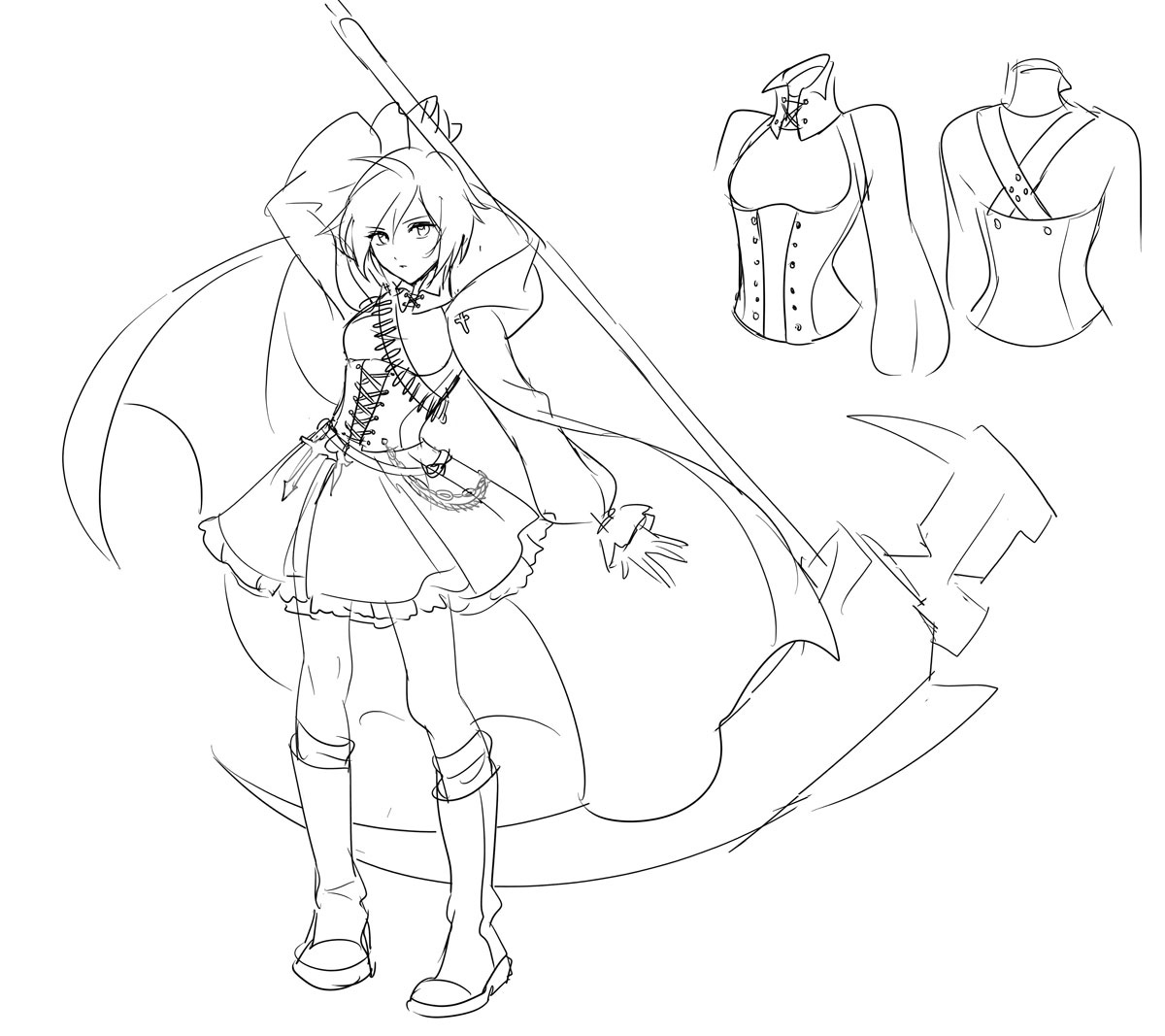Rooster Teeth Productions Presents Rwby Concept Art By Ein