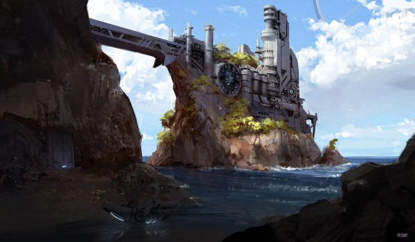 Brandon Liao   Concept Art World