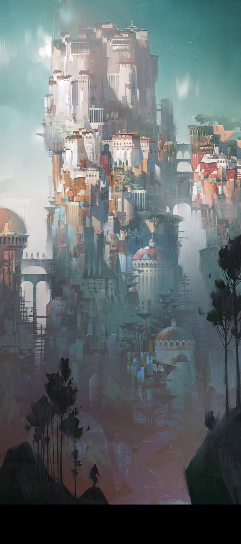 Ivan Laliashvili   Concept Art World