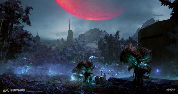 Mass Effect: Andromeda Concept Art by Ben Lo   Concept Art ...