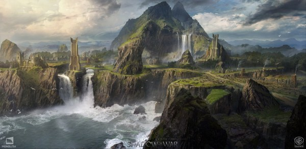 Middle-earth: Shadow of War Concept Art by George Rushing ...