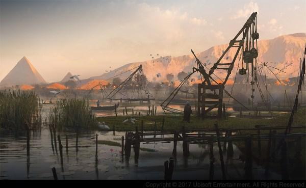 Assassin's Creed Origins Concept Art by Gilles Beloeil ...