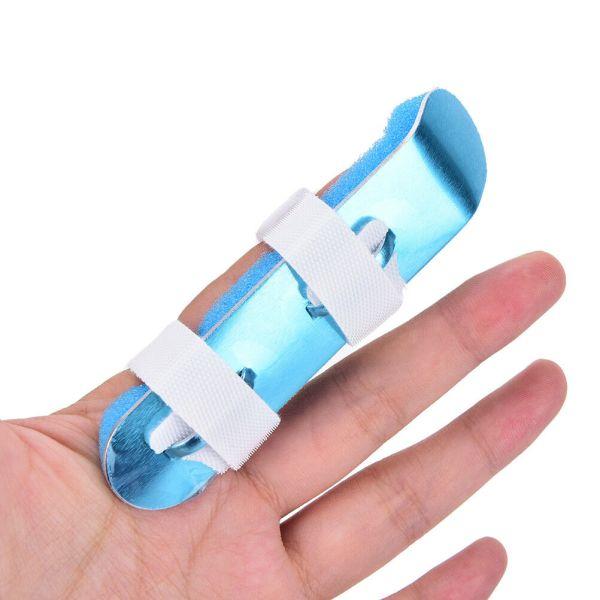 Supports en aluminium pour doigt