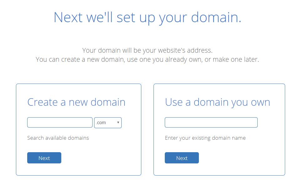 bluehost hosting step 3