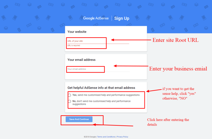 Get started with AdSense