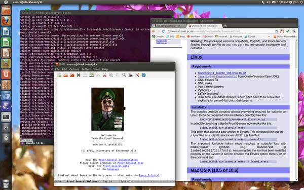 Isabelle 2011 on my Ubuntu box.