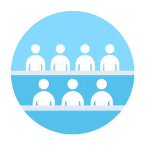 Business people pictograms  Vector stencils library | Business people  Vector stencils library