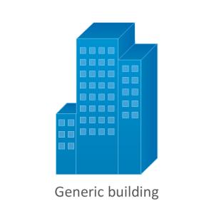 Cisco Buildings Cisco icons, shapes, stencils and symbols | Design elements  Cisco buildings