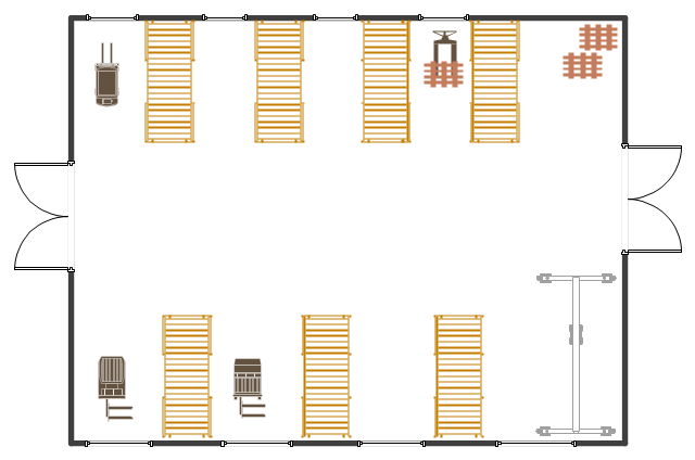 Warehouse Layout Floor Plan Commercial Building Layout