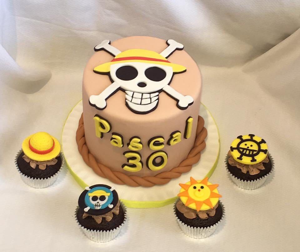 concept gateaux cupcakes pirates