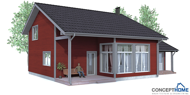 Small House Plan CH92 With Affordable Building Price And