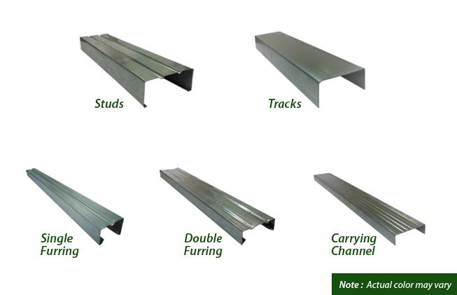 Metal Studs Sizes Philippines Basement Wall Studs