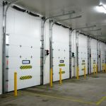 Insulated Vertical Lift Sectional Door