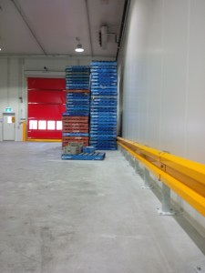 Barrier Rail - Wall protection - Forklift Safety