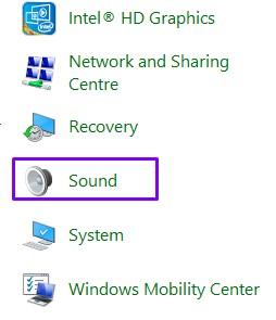 Sound Options