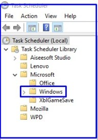 How to Open Task Scheduler on Windows 10