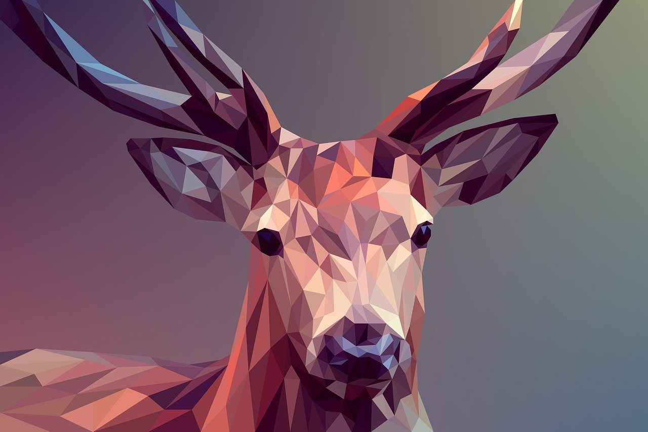 Graphic design Designcap deer-3275594_1280