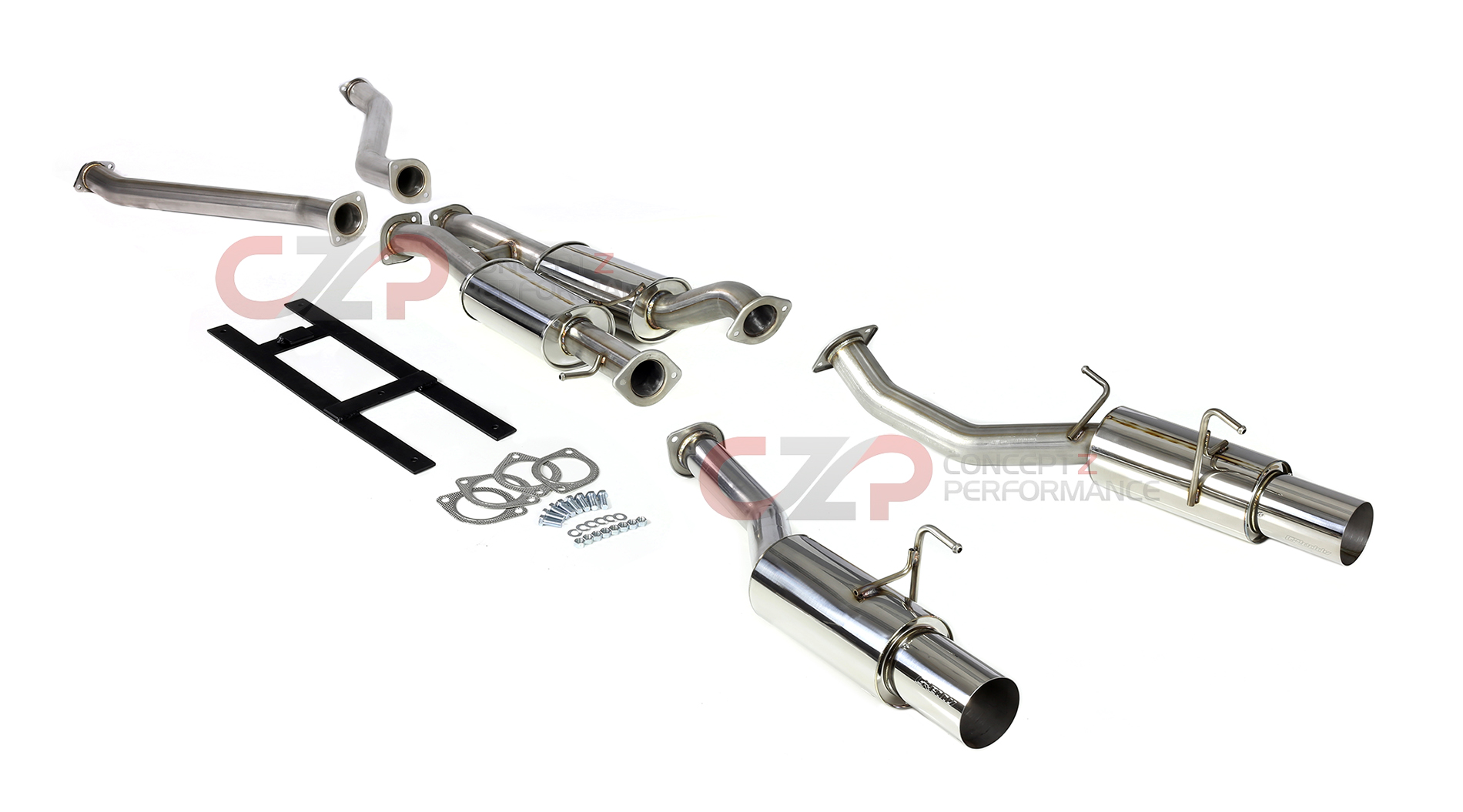 Nissan 350z Performance Exhaust Parts Upgrades And Accessories