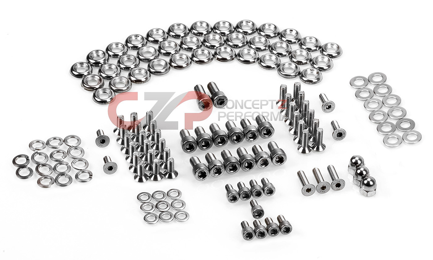 Czp Stainless Steel Engine Bay Bolt Kit Nissan 300zx 90 96