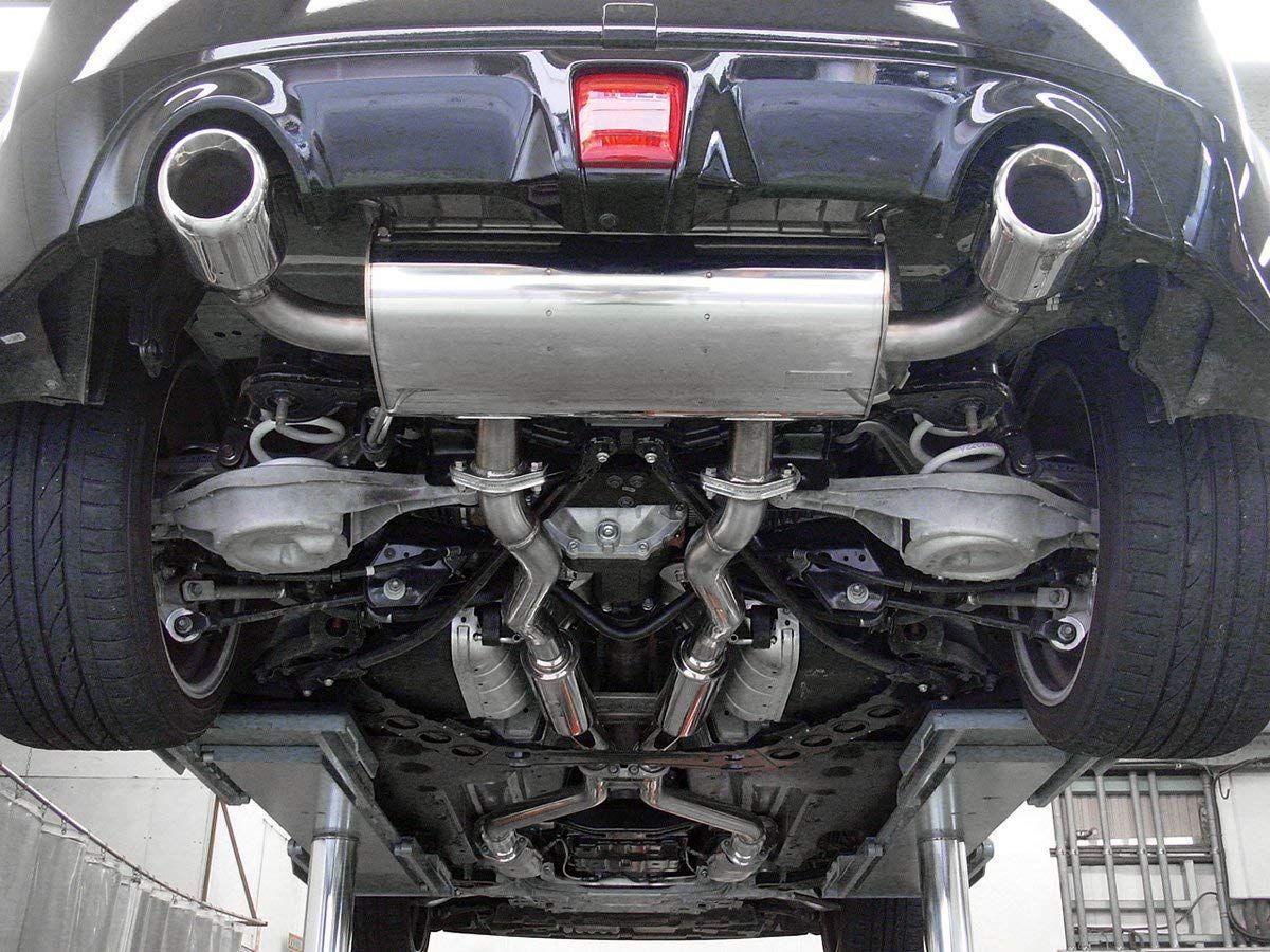 hks legamax premium catback exhaust