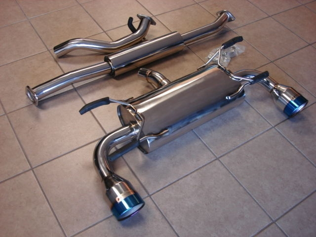 top speed catback exhaust system with 114mm tips scion fr s subaru brz catback scion frs s concept z performance