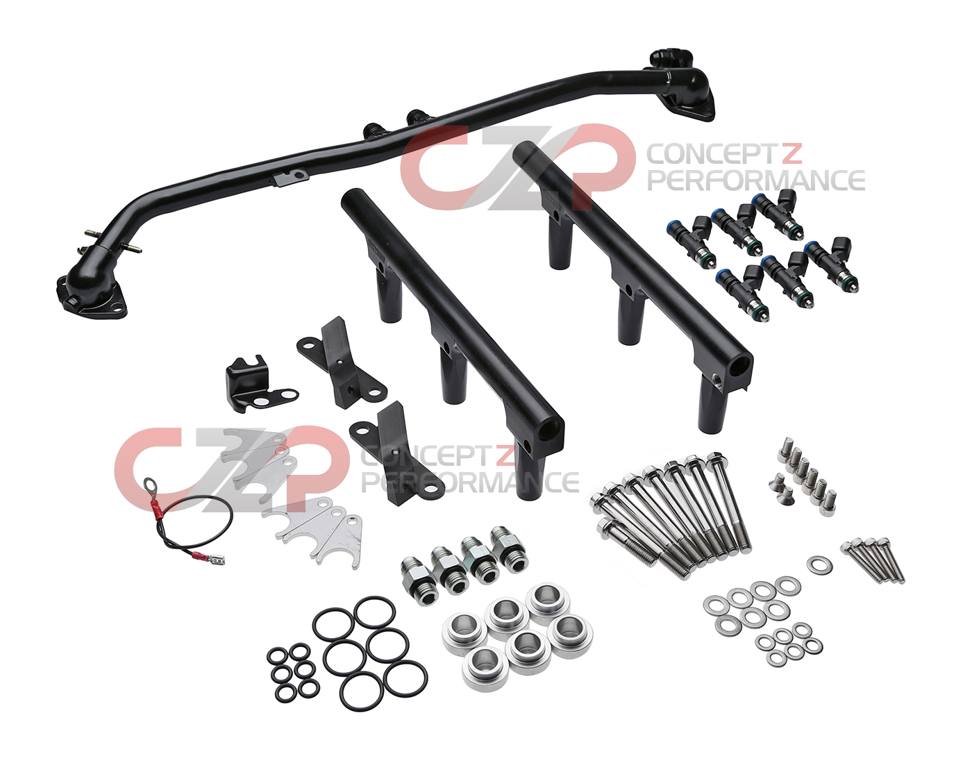 Bde Top Feed Fuel Rail Kit W Optional Injectors